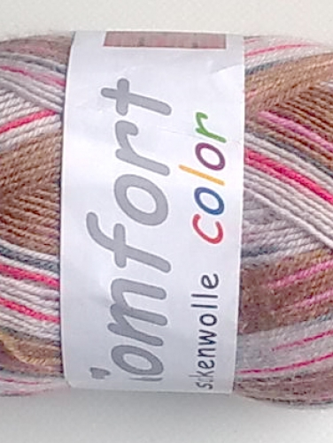 Comfort Sockenwolle Color   #26