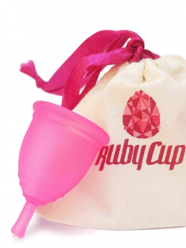 Ruby Cup - M | rosa