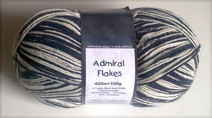 Admiral Flakes 1997 black and white Schoppel